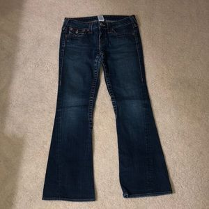 True Religion bell bottom jeans